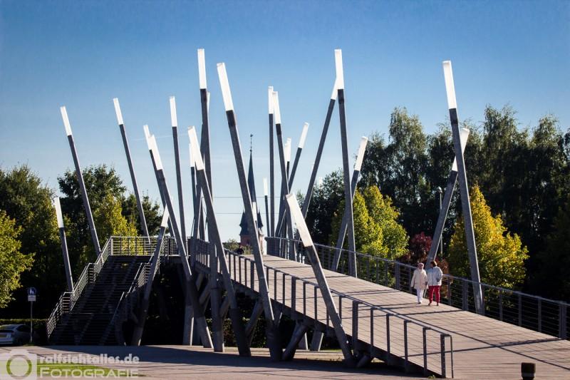 Brücke zur Landesgartenschau