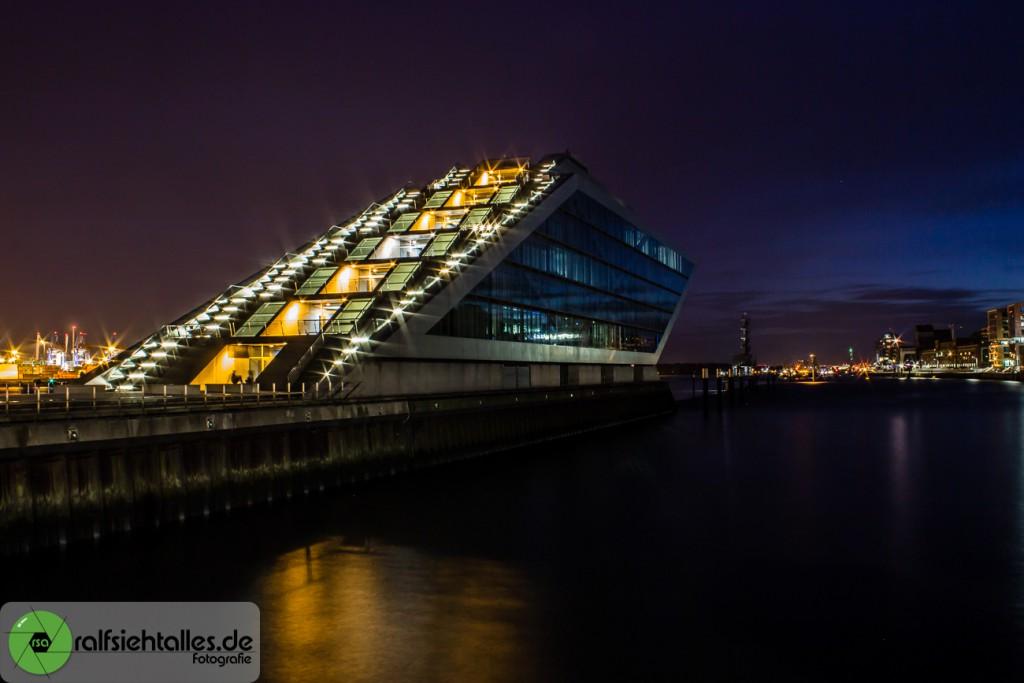 Dockland-Bürogebäude in Hamburg