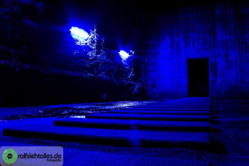 blauer Gang2 - Extraschicht am LaPaDu