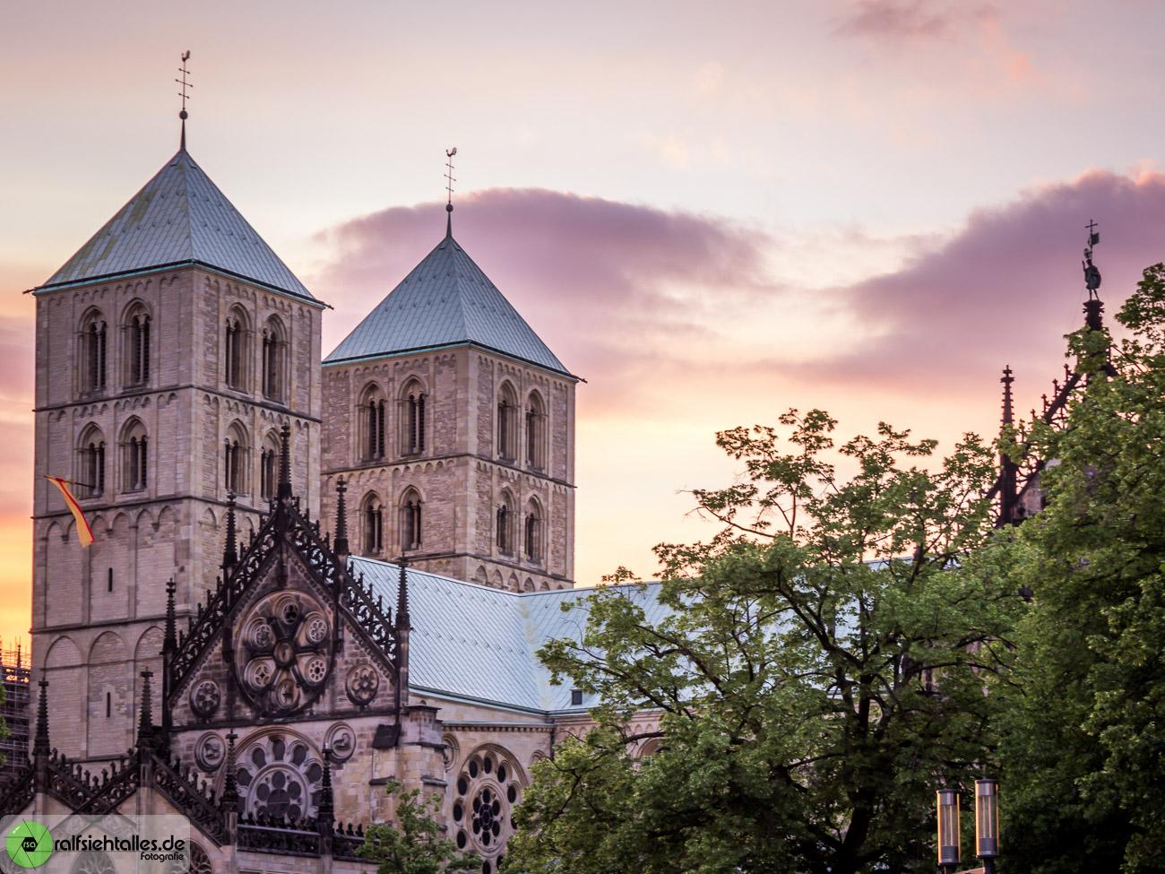 Auf dem Fotowalk sind wir auch am Dom zu Münster vorbei gekommen.