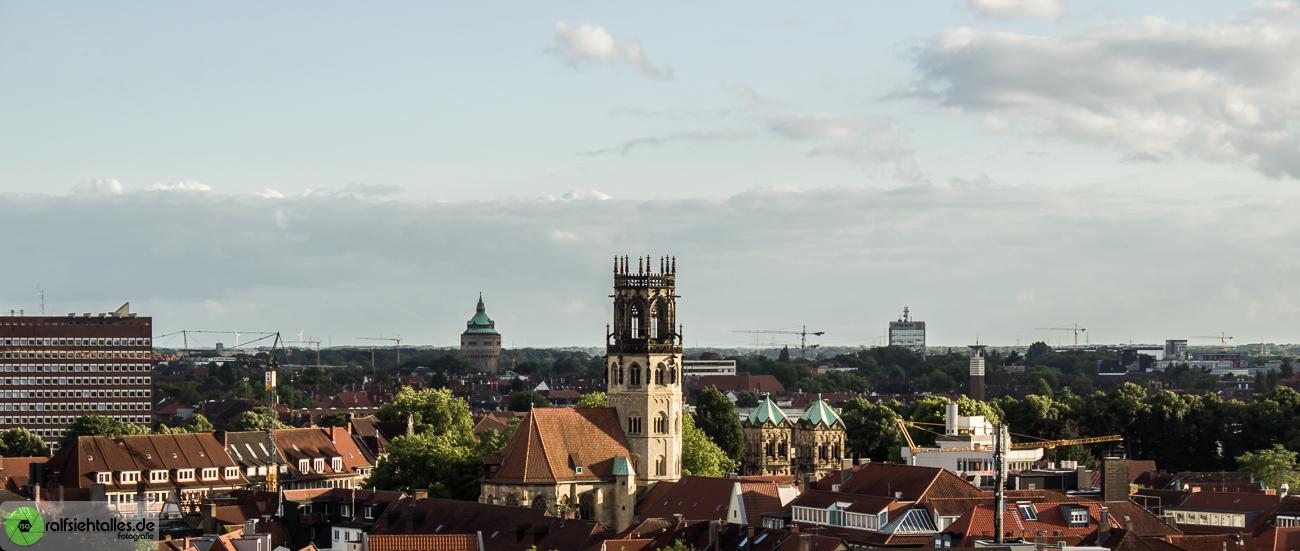 Panorama über Münster