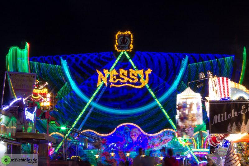 Nessy auf der Cranger Kirmes 2017