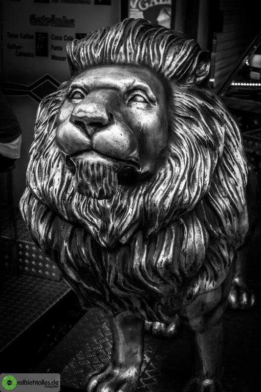 Statue eines Löwen