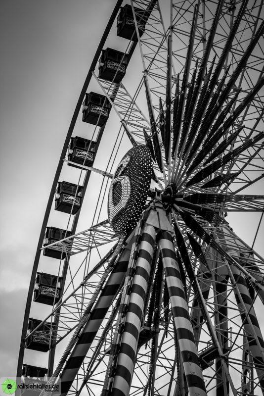 Riesenrad auf der Cranger Kirmes 2017