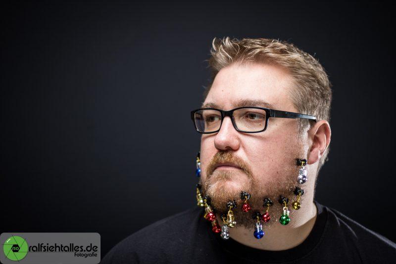 Tim mit Bartkugeln