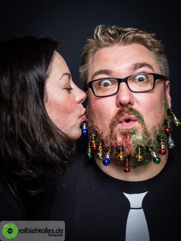 Simone und Tim beim Weihnachtsshooting