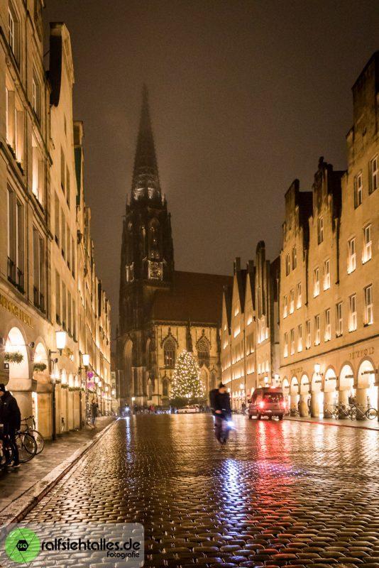 Der Prinzipalmarkt mit Blick auf die Lambertikirche