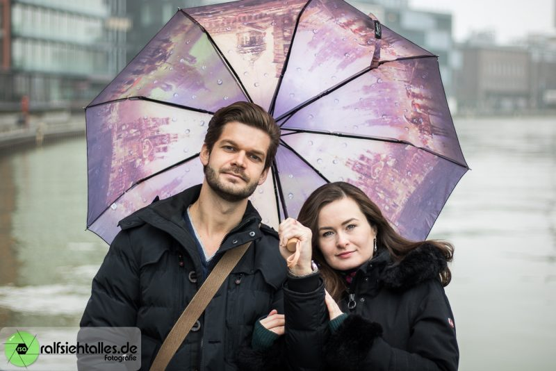 Paarshooting mit Ekaterina und Max am Hafen