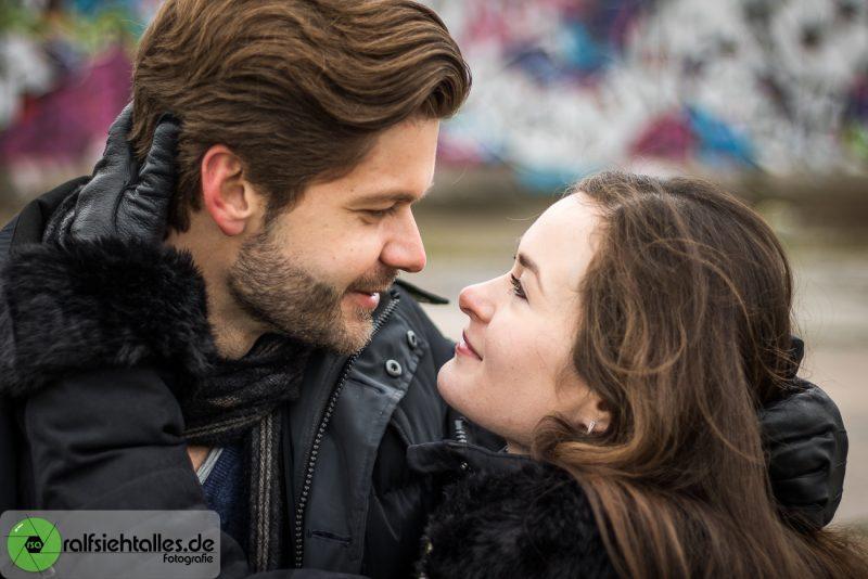 Max und Ekaterina am Hawerkamp