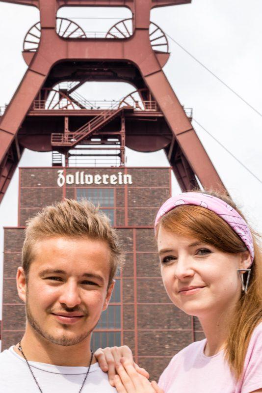Mit Melissa und Falko auf der Zeche Zollverein