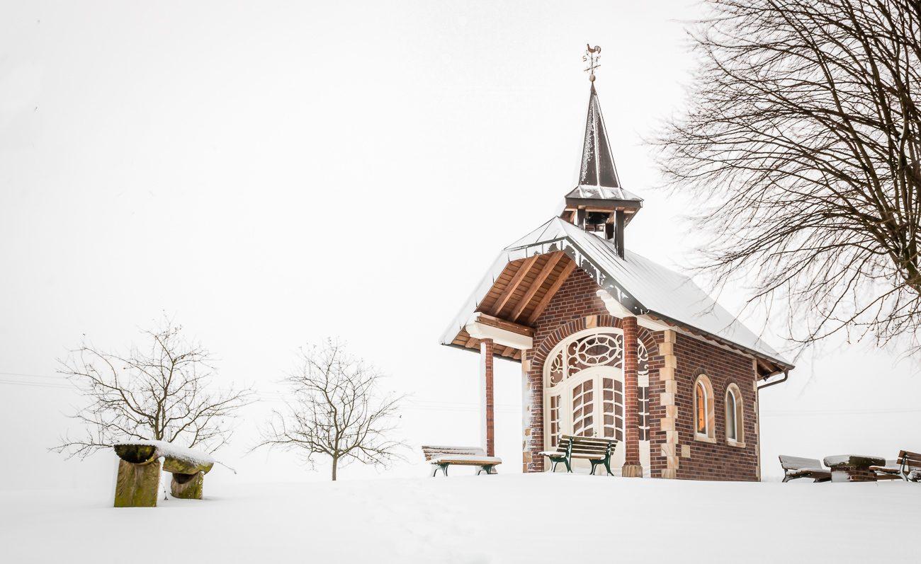 Kapelle zu den fünf Wunden in Laer. Frohe Weihnachten!